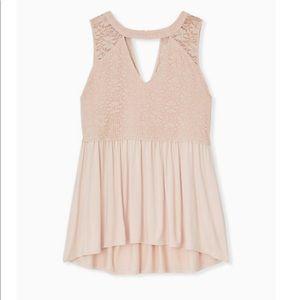 *TORRID* pink lace babydoll